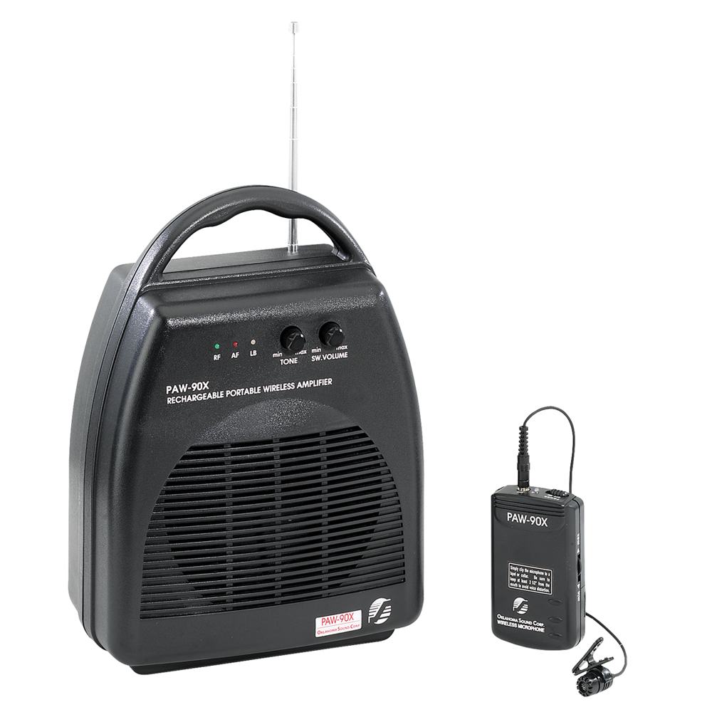 Oklahoma Sound Portable Wireless PA System with Rechargea...