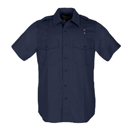 Image of 5.11 TACTICAL Taclite PDU Class A Short Sleeve Shirt 4X-Large - Tall Midnight Navy