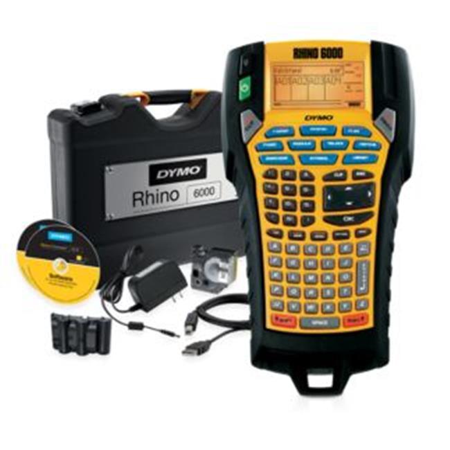 DYMO Rhino 784-1734520 6000 Label Printer- Hard Case Kit