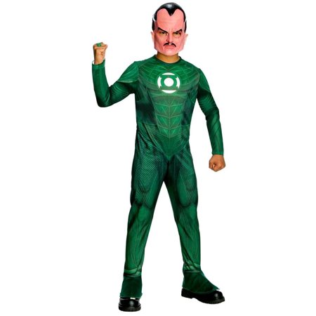 Green Lantern Sinestro Costume Child