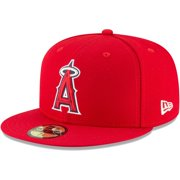 Los Angeles Angels New Era Youth Authentic Collection On-Field 59FIFTY Fitted Hat - Red