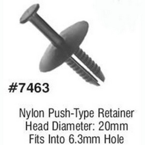 LSP Products 7463R Bmw Push Type Retainer