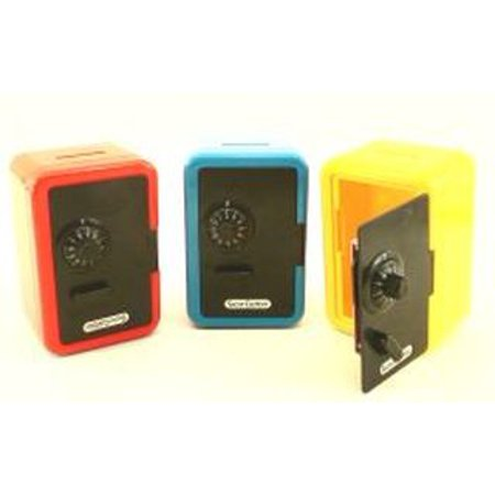Borateem Color Safe - Toy Safe With Combination Lock (ONE RANDOM COLOR)