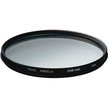 (Hoya 58mm PRO1 Four Point Cross Screen Glass Filter (4X))