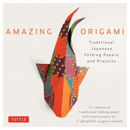 Amazing Origami Kit : Traditional Japanese Folding Papers and Projects [144 Origami Papers with Book, 17 Projects]