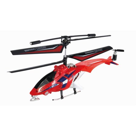 Gravity Z Auldey Sky Rover Infrared 3 Channel With Gyro Indoor Helicopter  Red