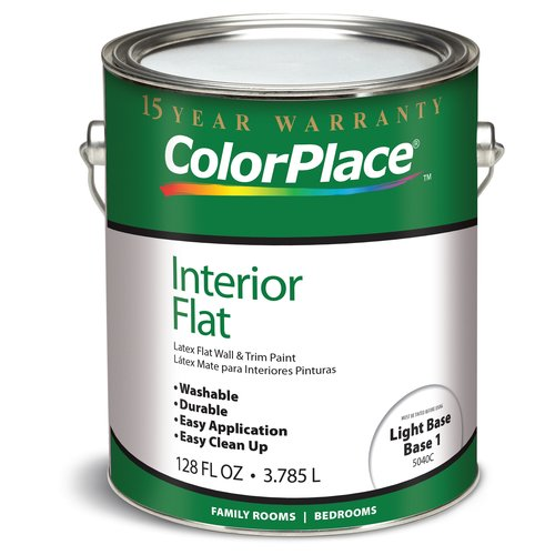 ColorPlace Interior Flat Latex Paint