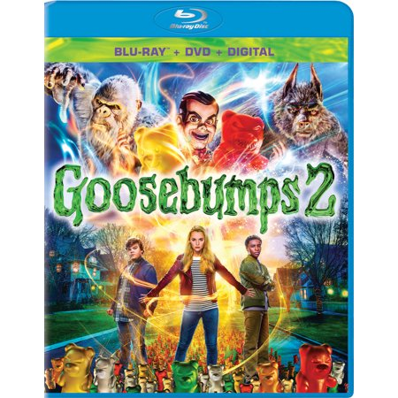 Goosebumps 2: Haunted Halloween (Blu-ray + DVD + Digital Copy)