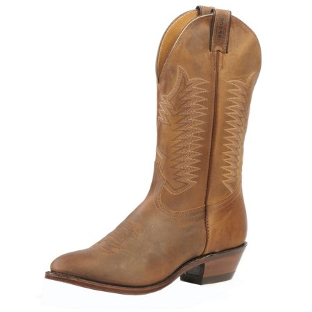 Western Boots Mens Cowboy Leather 9 3E Hill Billy Golden 1828