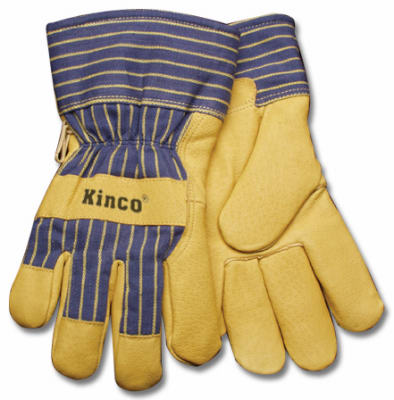 Kinco International 1928 XL Extra-Large Men's Grain Pigskin Leather Palm Gloves