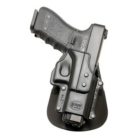 Fobus Standard Paddle Holster, Right Hand, Black - For Glock 17/19/22/23/31/32/3