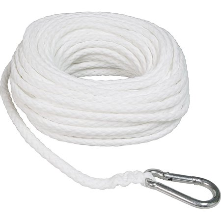 "SeaSense Hollow Braid  Polypropylene Anchor Line, 3/8"" x 100"