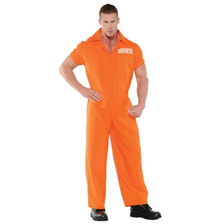 Convicted Mens Costume, 2XL - image 1 of 1