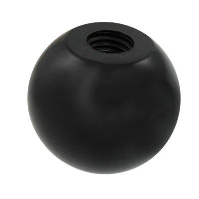 - Unique Bargains 2 Pcs Black Round Plastic M10 Thread 40mm Dia Ball Lever Knobs