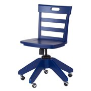 Wooden Kids Chair w Castered Base