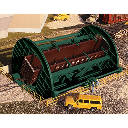Walthers Cornerstone HO Scale Building/Structure Kit Rotary Dumper for Gondolas