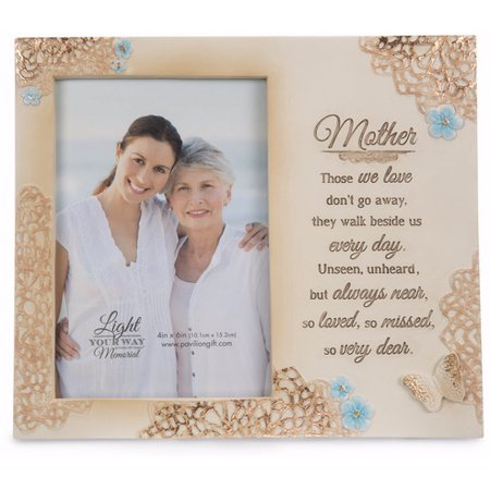 Pavilion - Mother Memorial 4x6 Inch Picture (Worlds Best Mom Photo Frame)