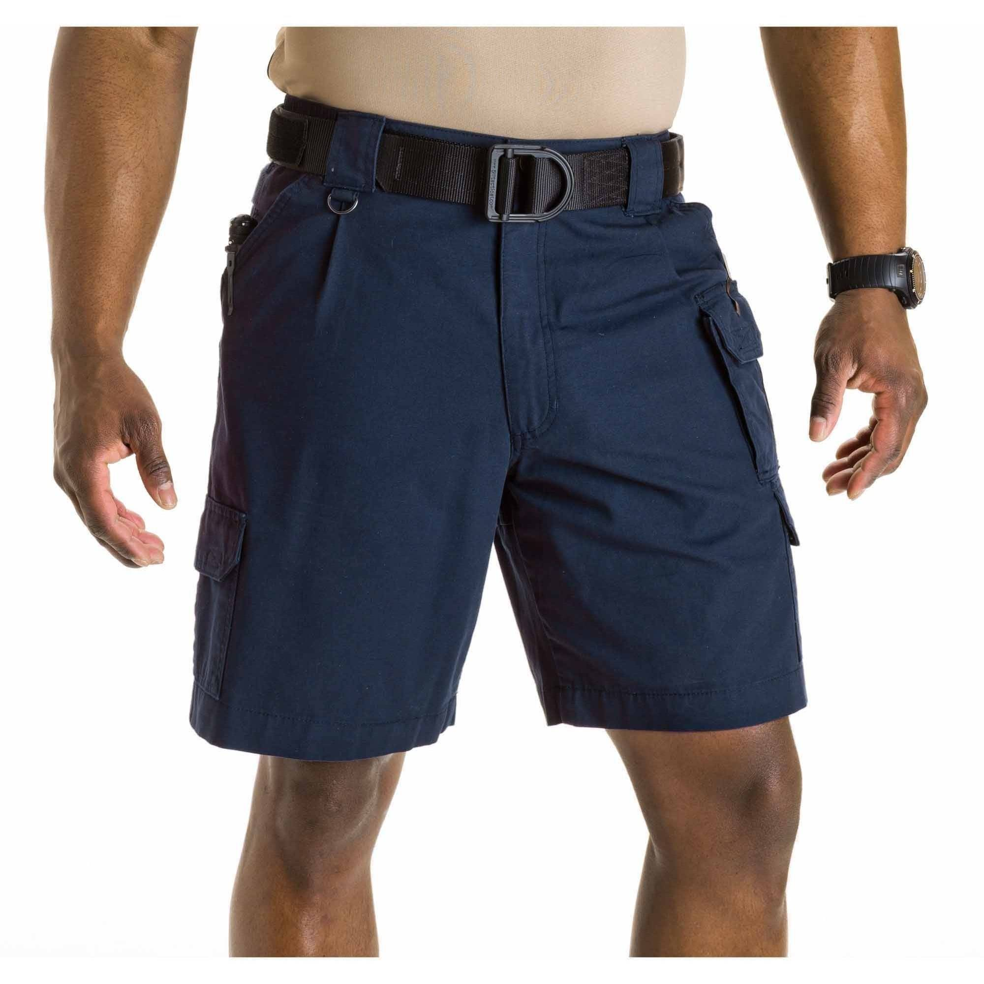 5.11 Tactical Men's Cotton Tactical Shorts, Fire Navy
