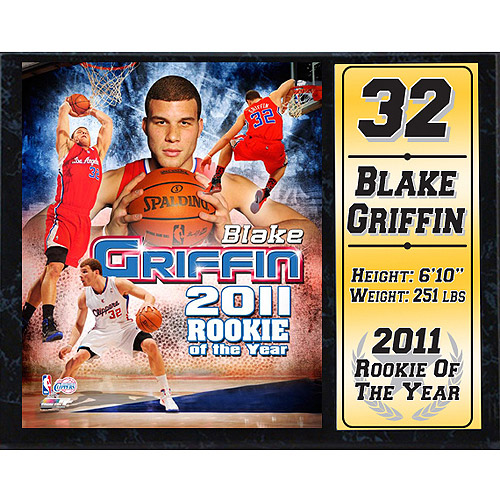 NBA Los Angeles Clippers Stat Plaque, 12x15