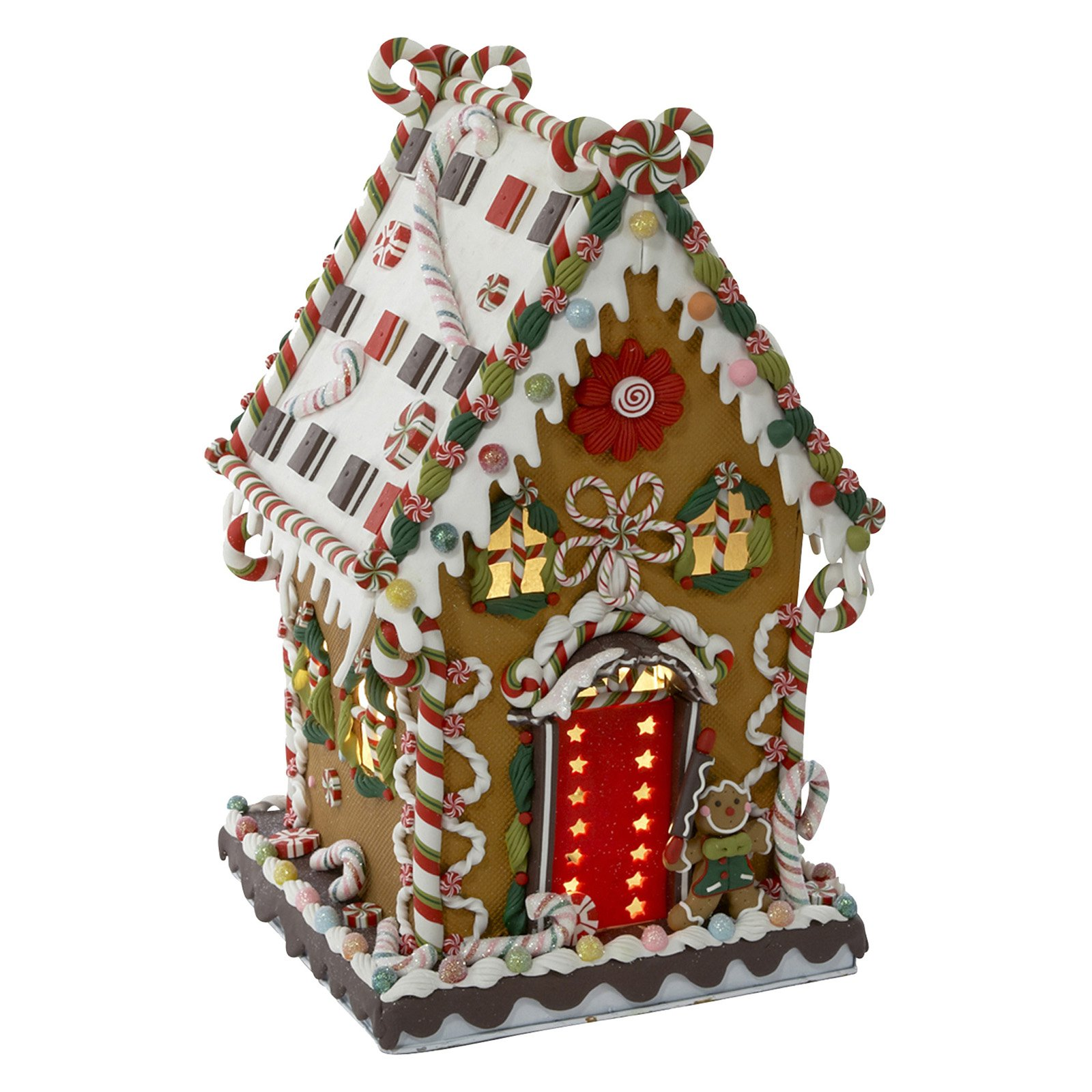 """Kurt Adler 13.25"""" Cookie/Candy House with C7 Lights"""