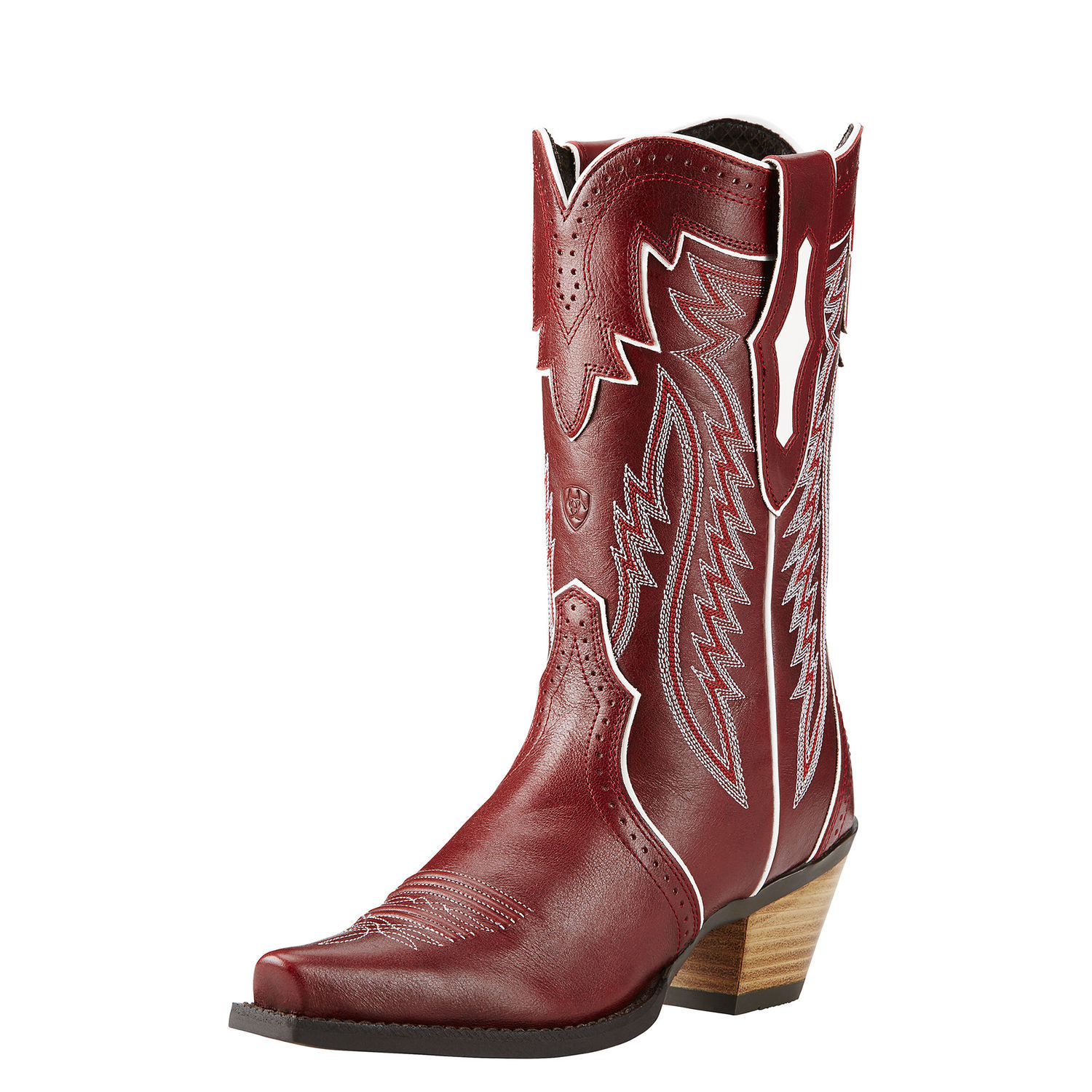 Ariat Calamity Square Toe Leather Western Boot by Ariat