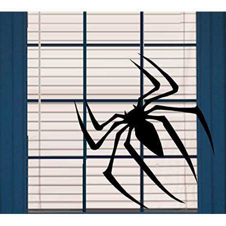 HALLOWEEN DECOR ~ Scary Spider ~ HALLOWEEN: WALL OR WINDOW DECAL, 10
