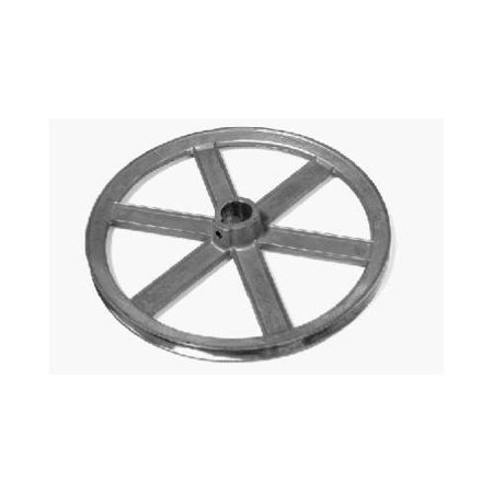 PPS PACKAGING COMPANY Evaporated Cooler Blower Pulley, Zinc, 10 x 1-In. 87103