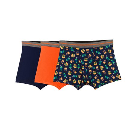 Fruit of the Loom Boys 3-Pack Performance Poly Boxer Briefs Burger