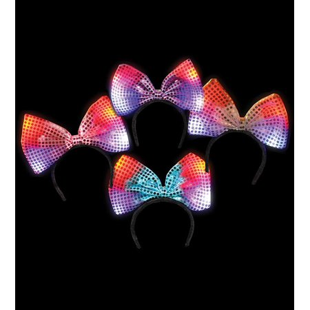 Lumistick LED Flashing Bow Headband