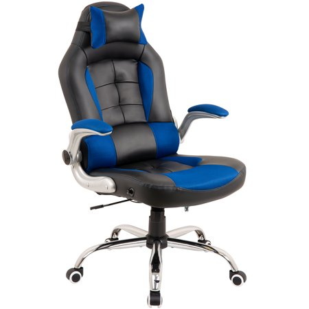Top Knobs High Back Executive Office Chair With Flip Up Arms