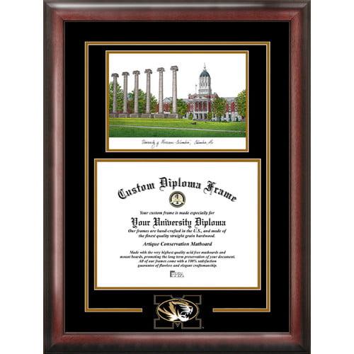 "Missouri Tigers 11"" x 8.5"" Spirit Graduate Diploma Frame"