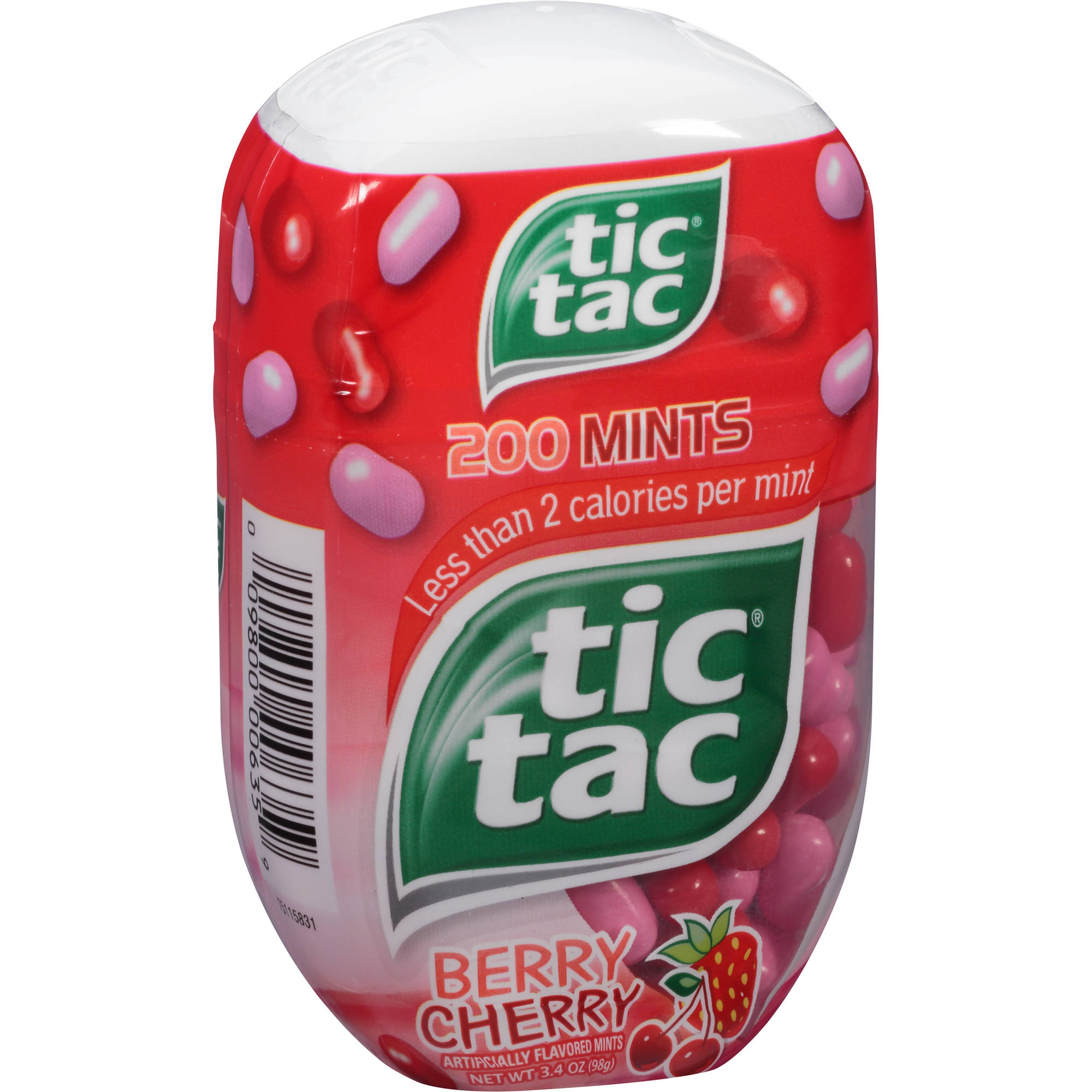 Tic Tac Berry Cherry Mints, 200 count, 3.4 oz