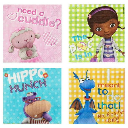Doctor Mcstuffin Party Supplies (Doc McStuffins Party Paper Lunch Napkins,)