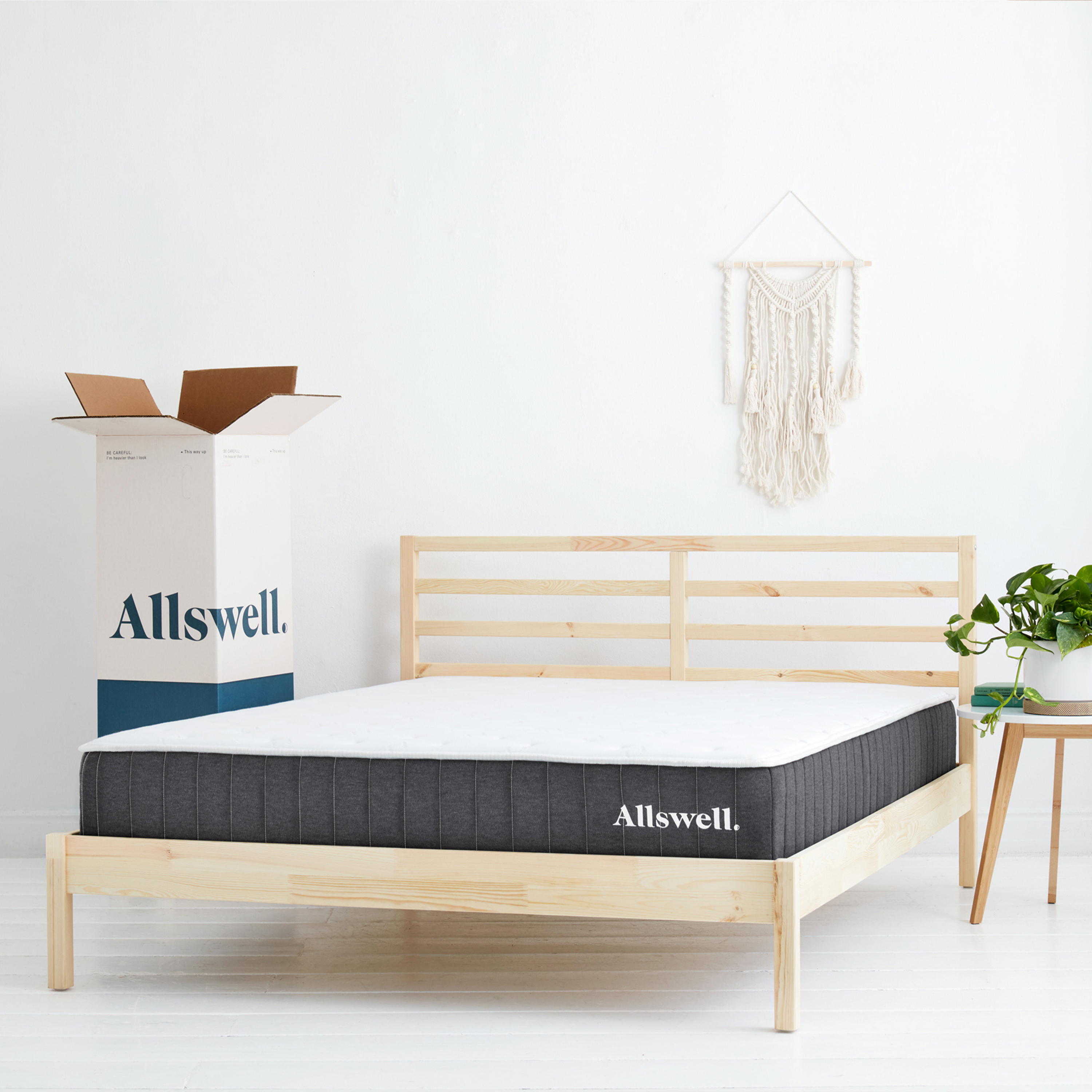 "The Allswell 10"" Bed in a Box Hybrid Mattress, Queen - Walmart.com"