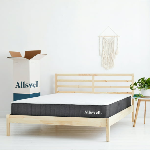 "The Allswell 10"" Bed in a Box Hybrid Mattress, Queen"