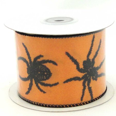 Halloween SPIDER FEST RIBBON Polyester 40199C (Tips Halloween Fest)