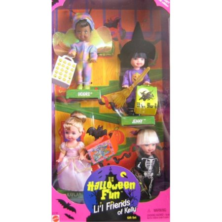 Barbie KELLY Halloween Fun Lil Friends of Kelly Gift Set - Target Special Edition (Barbie Lil Quad)