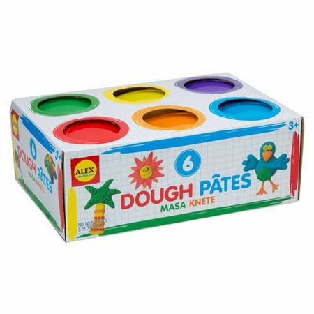 ALEX Toys Artist Studio 6 Dough Basic Colors