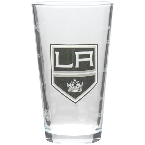 Los Angeles Kings 16oz. Sandblasted Mixing Glass