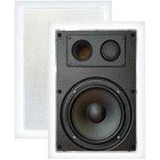 6.5 Inch 360-Watt 2-Way in Wall Enclosed Speaker With Directional Tweeter