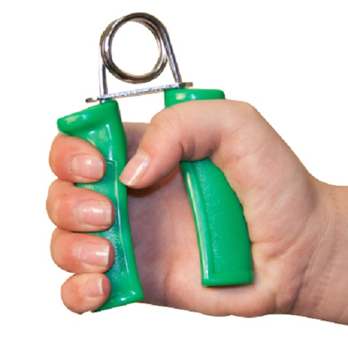 Fabrication Ent    Hand Exercise Grips - Green Medium  (Pair) Part No.10-1806