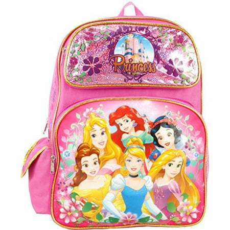 Backpack - - Princess - Group Pink 16 New 103156 - Princess With A Backpack