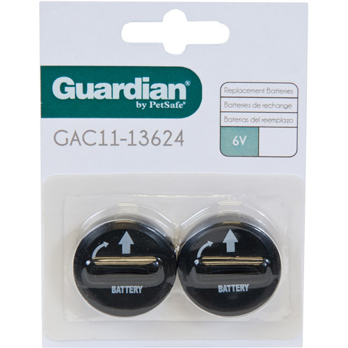 Guardian 6-Volt Replacement Batteries, 2-Pack