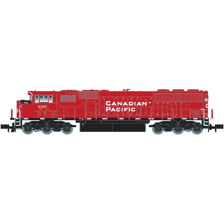 Atlas N Scale EMD SD60M Diesel Locomotive w/ DCC Canadian Pacific/CP Rail #6260