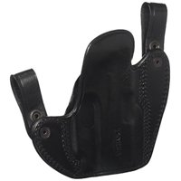 Tagua DSH-691 Springfield XDS with CT Laser Dual Snap Holster, Black, Left Hand