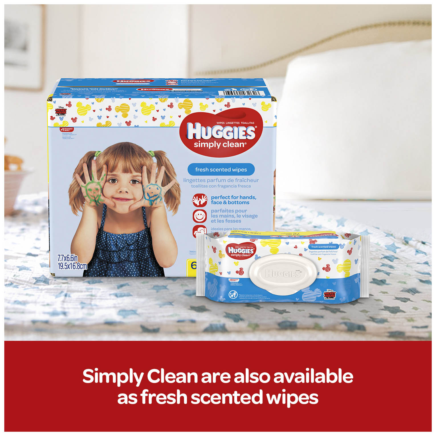 Baby Wipes Baby Huggies Unscented Baby Wipes For Hands