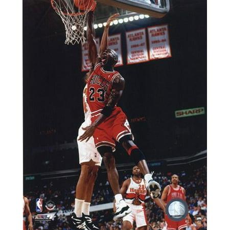 Michael Jordan 1996 Action Sports Photo