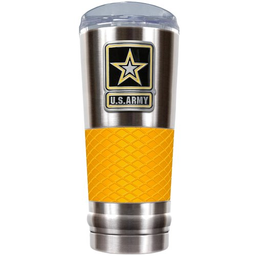 Great American Products US Armed Forces 24 oz. Stainless Steel Travel Tumbler