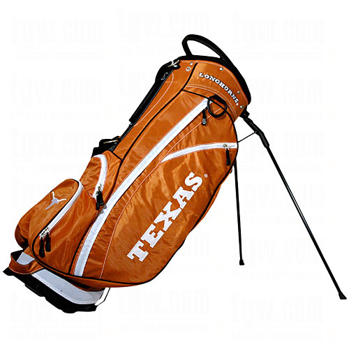 Team Golf NCAA Texas Fairway Golf Stand Bag