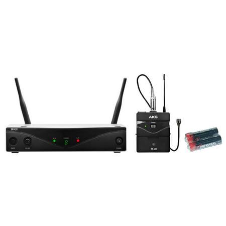 AKG WMS420 Presenter Set w/2 Free Universal Electronics AA Batteries